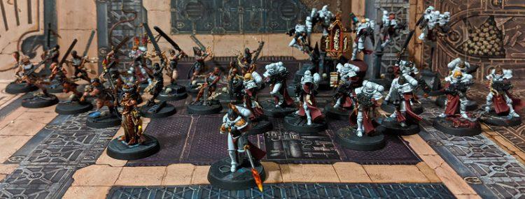 Sororitas Crusade Army Group Shot