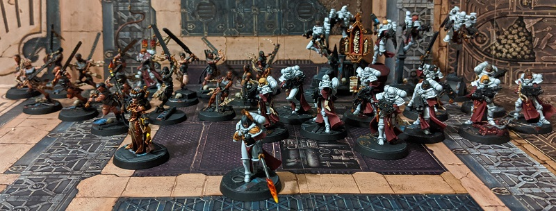 Sororitas Crusade Army Group Shot