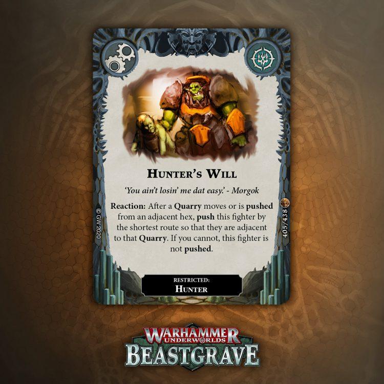 PK525 Warhammer Underworlds-Tournament Promotional Cards /'Spiteful Charm/'