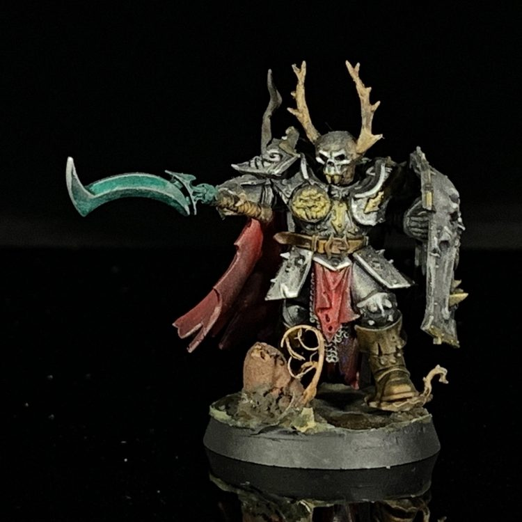 Slaves to Darkness Chaos Warrior. Credit Mike Bettle-Shaffer