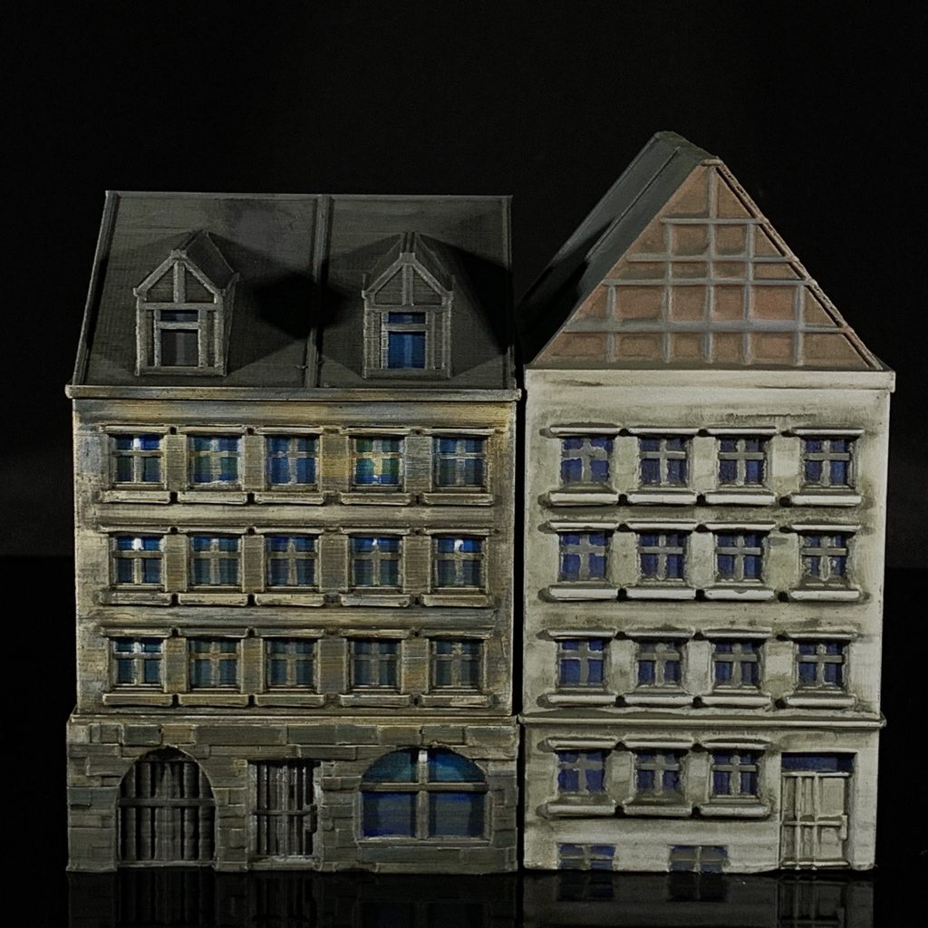 European buildings in 15mm scale. Credit: Mike Bettle-Shaffer