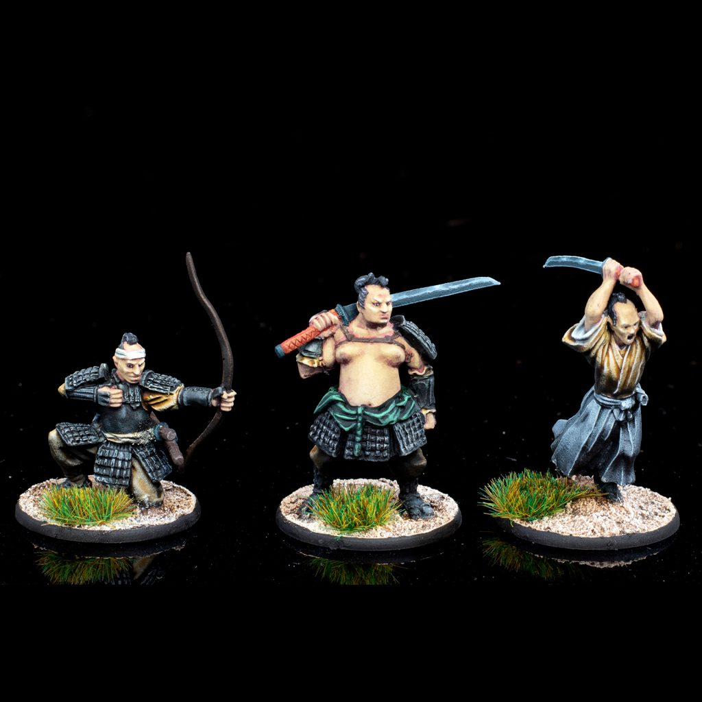 Warlord Samurai Heroes