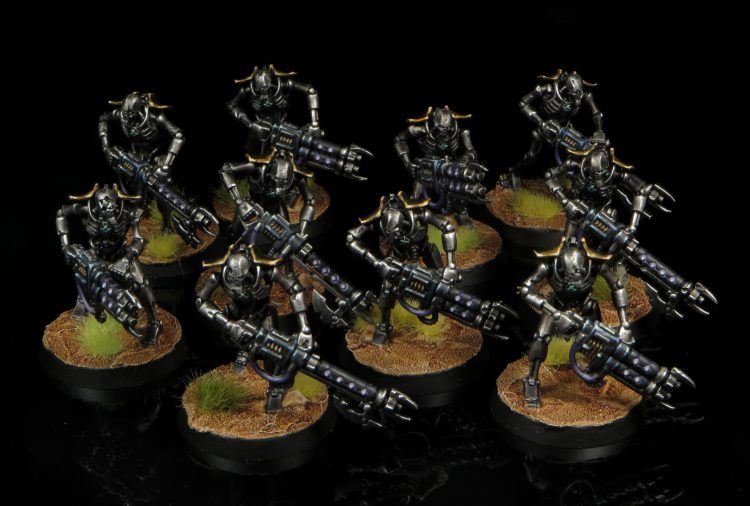 Necron Warriors. Credit: Rockfish