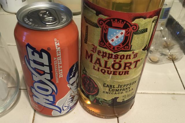 Moxie + Malort = regret