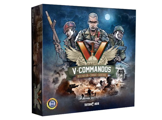 Cover Box - V-Commandos
