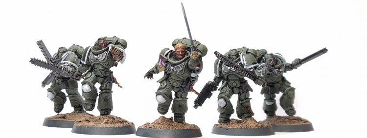"Swords of Davion Assault Intercessor Squad Ector by Tyler ""Coda"" Moore"