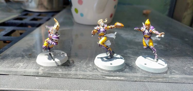 3 Elfheim Eagle Players