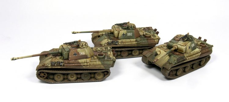 Panther Tanks by Victrix Games