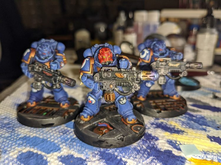 Ultramarines Hotties