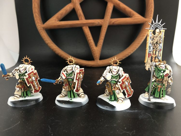 Dark Angels Blade Guard Veterans and Ancient