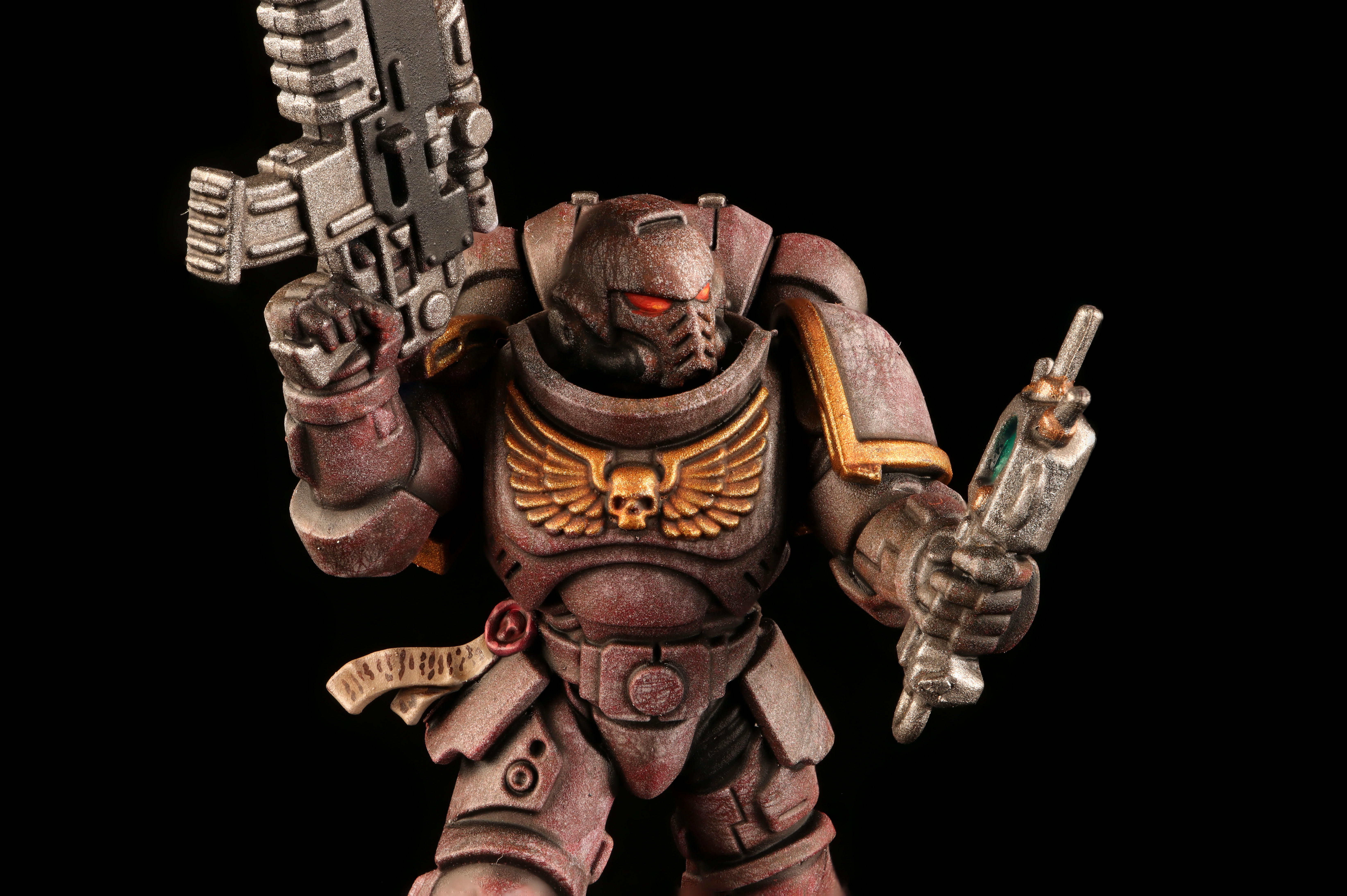 Space Marine Sternguard Veteran Squad Heavy Flame Thrower *BITS* Arms