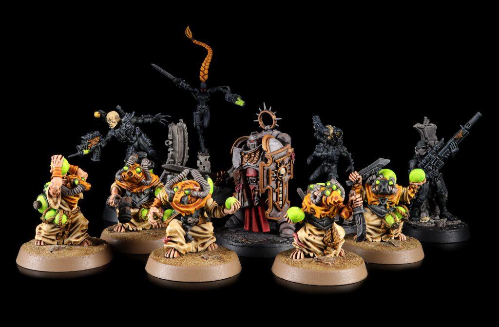 Bladeguard, Skaven, and Assassins