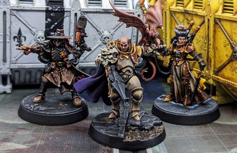A Trio of Inquisitors
