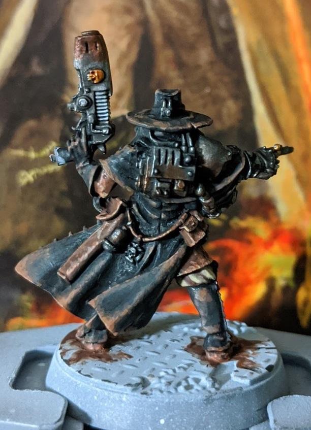 Lorr Brown Leather Black