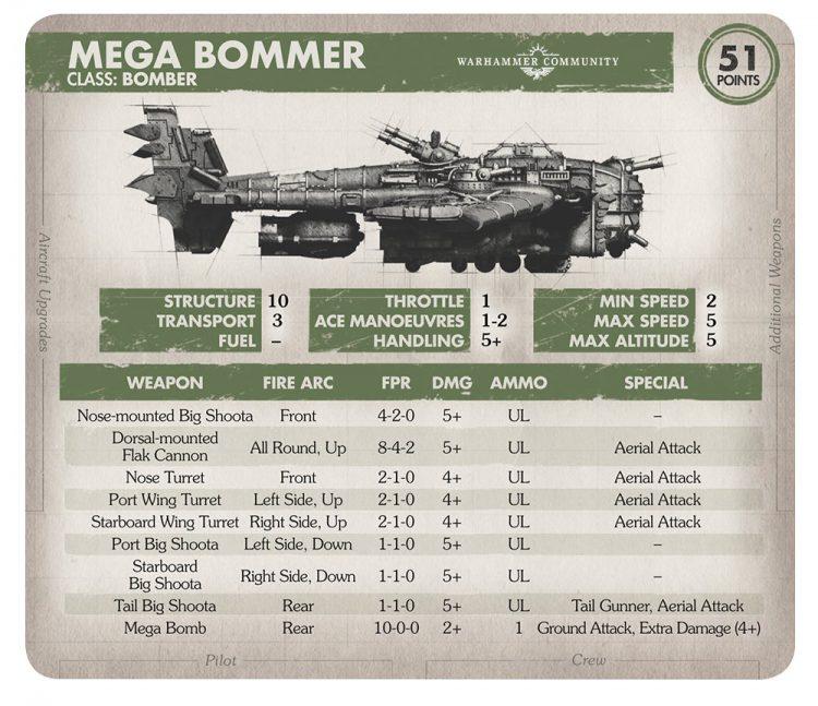 Mega Bomber Card