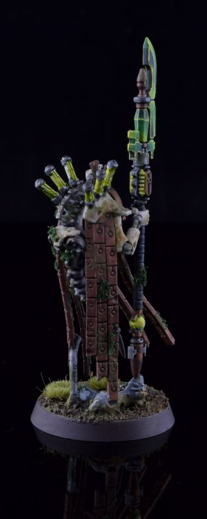 Necron Plasmancer (rear)