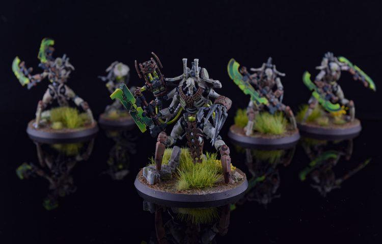 Skorpekh lord & Destroyers