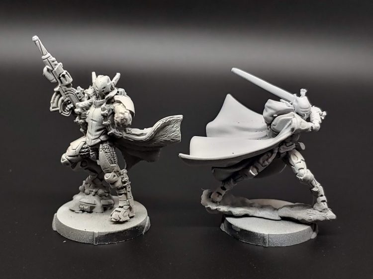 WinterFor Orc Troop and Knight of Justice