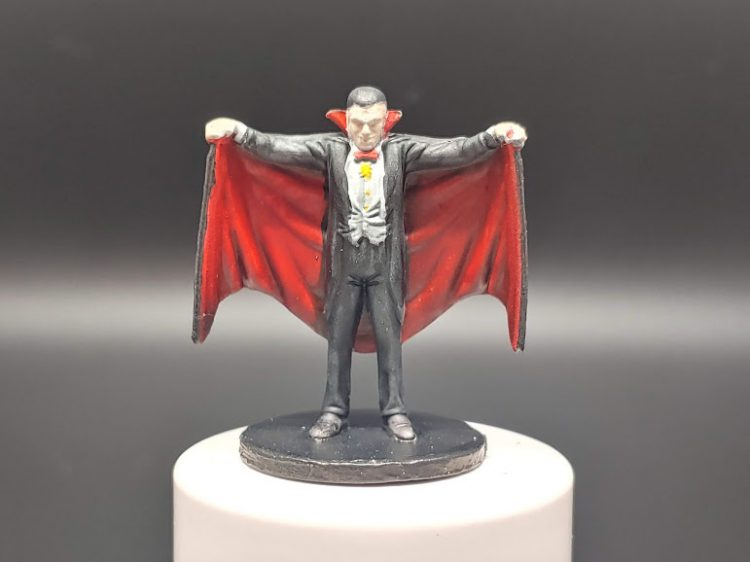 Finished Dracula: Credit: Kenji