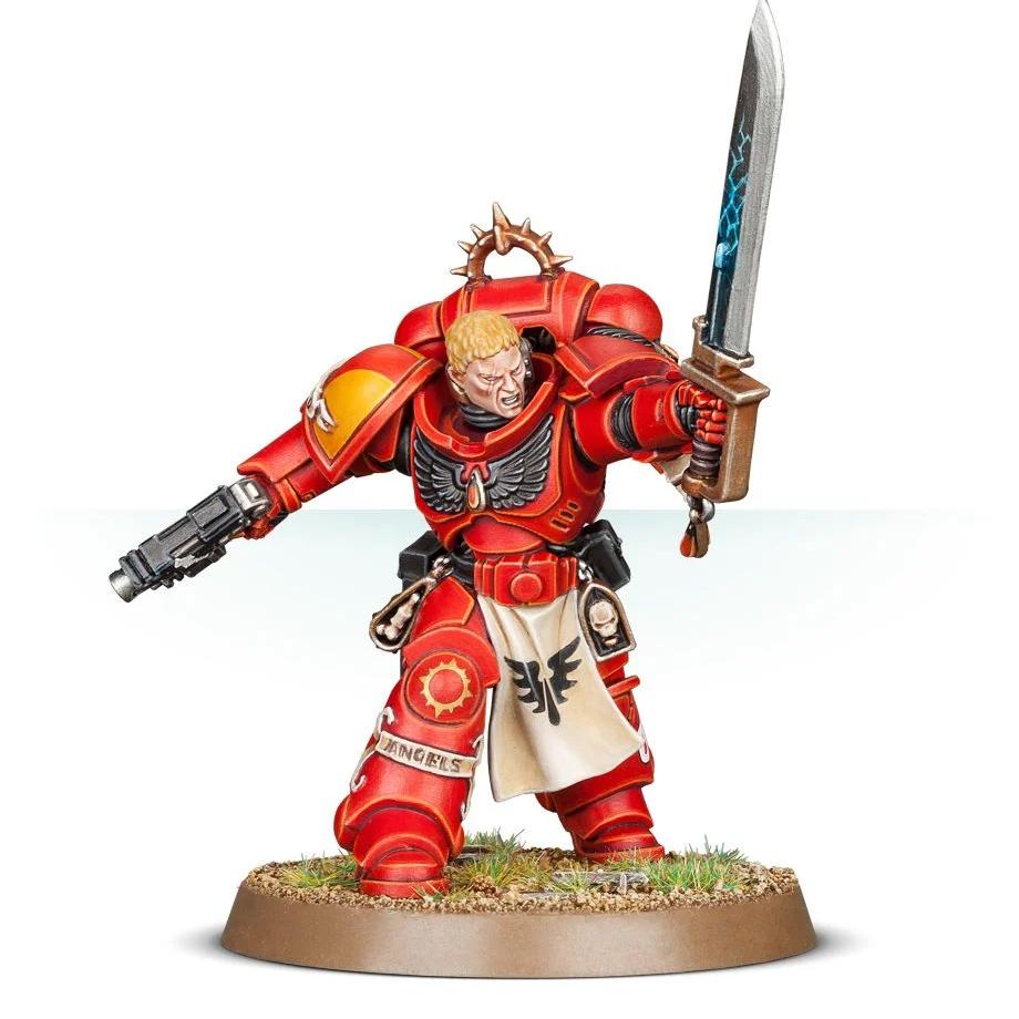 Blood Angels Primaris Lieutenant Tolmeron Credit: Games Workshop