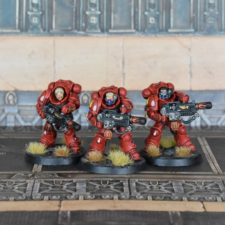 Blood Angels Eradicators.