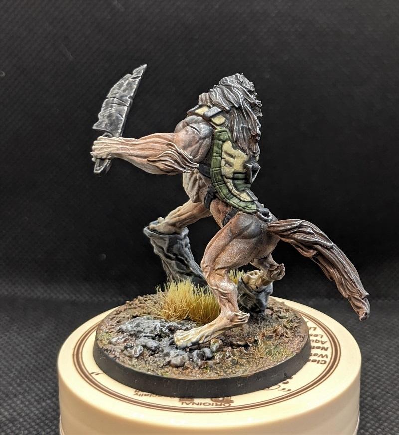 Ariadna Werewolf Woof!