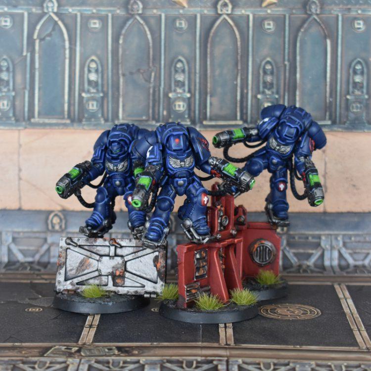 Inceptor Squad with plasma exterminators.