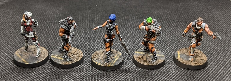 Infinity Alguaciles and Bases