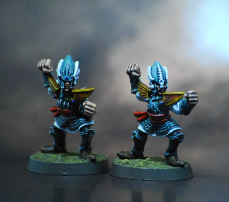 High Elf Blitzers - Painted by ineptmule