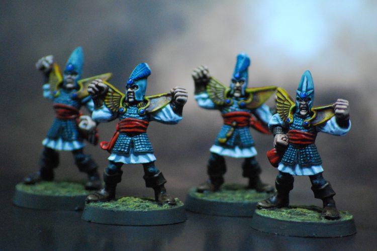 High Elf Linemen - Painted by ineptmule