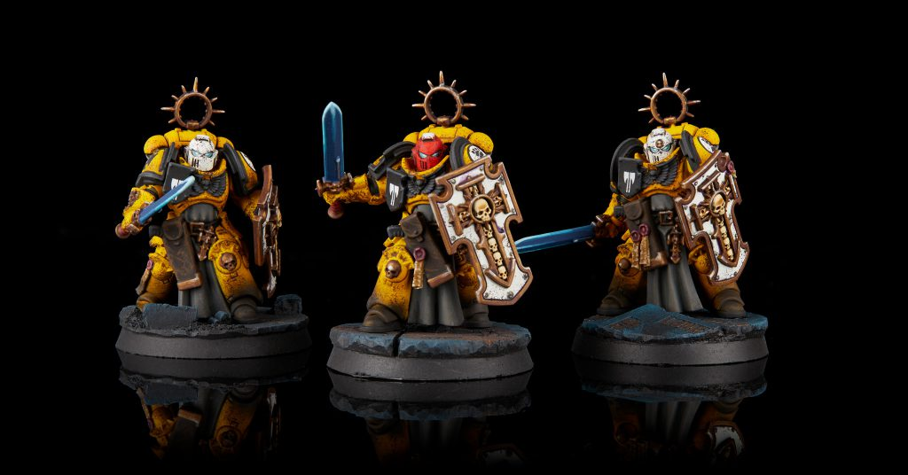 Imperial Fists Bladeguard Veterans