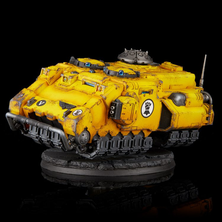 Imperial Fists Impulsor with Shield Dome