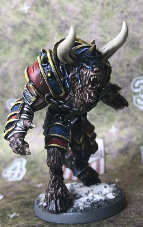 Chaos Minotaur - Painted by Jackal