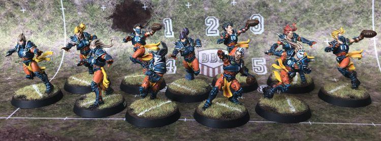Alqualonde Falcons - Elven Union Team - Painted by Jackal