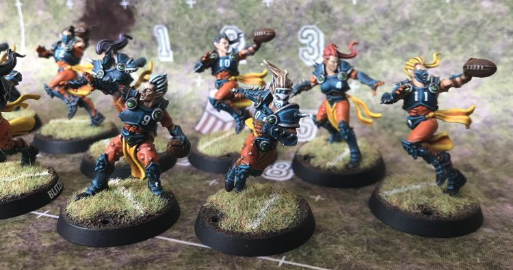 Alqualonde Falcons - Elven Union Team - Painted by Jackal