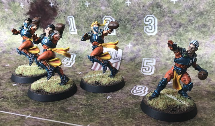 Elven Union Catchers and Thrower - Painted by Jackal