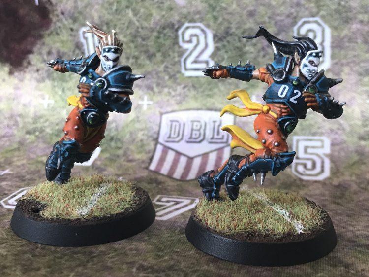 Elven Union Blitzers - Painted by Jackal