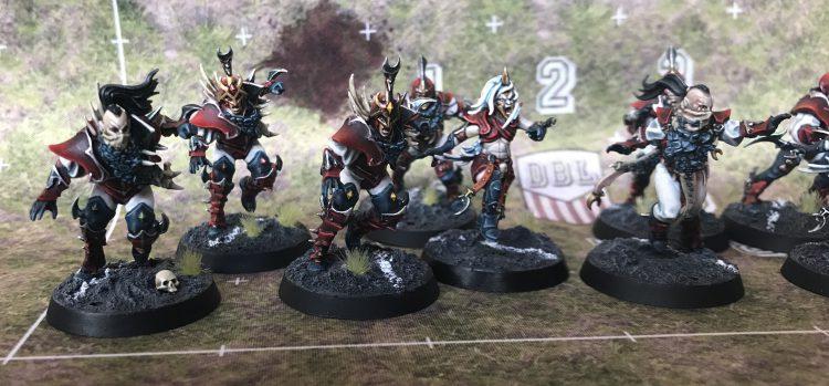 Dark Coast Daggers - Dark Elf Team - Painted by Jackal