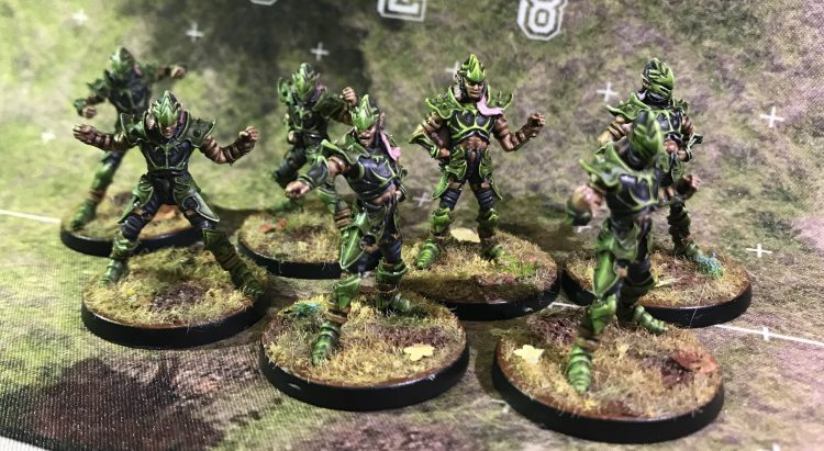 Wood Elf Linemen - Painted by JimboDeany