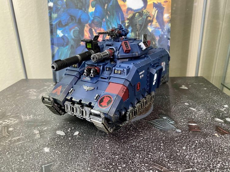 Crimson Fists Repulsor