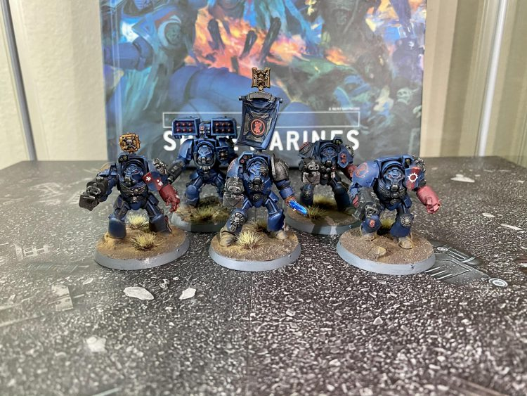 Crimson Fists Terminators