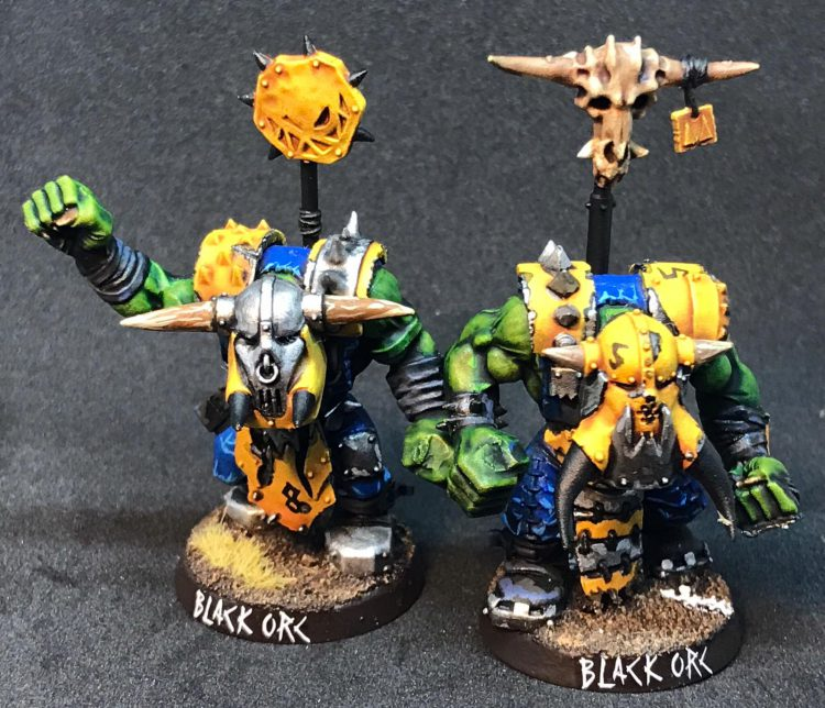 Orc Black Orcs / Big 'Uns - Painted by ineptmule