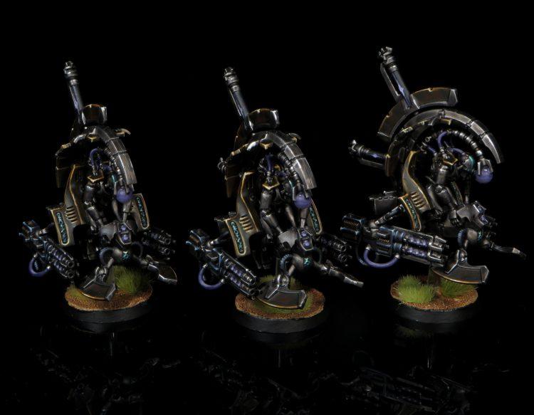Tomb Blades w/ Gauss Blasters. Credit: Rockfish