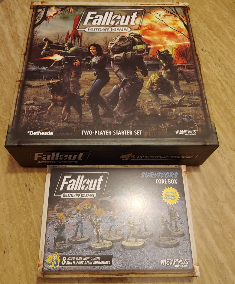 Fallout Box and Survivors. Credit: Kenji