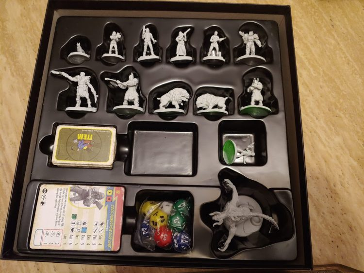 Fallout Main Box Contents, but Primed. Credit: Kenji