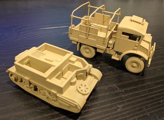 Desert Vehicle base coat