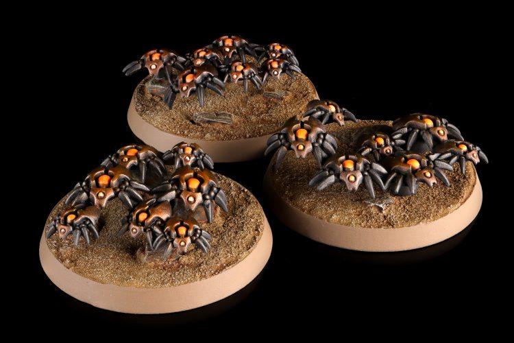 Necron Canoptek Scarab Swarm