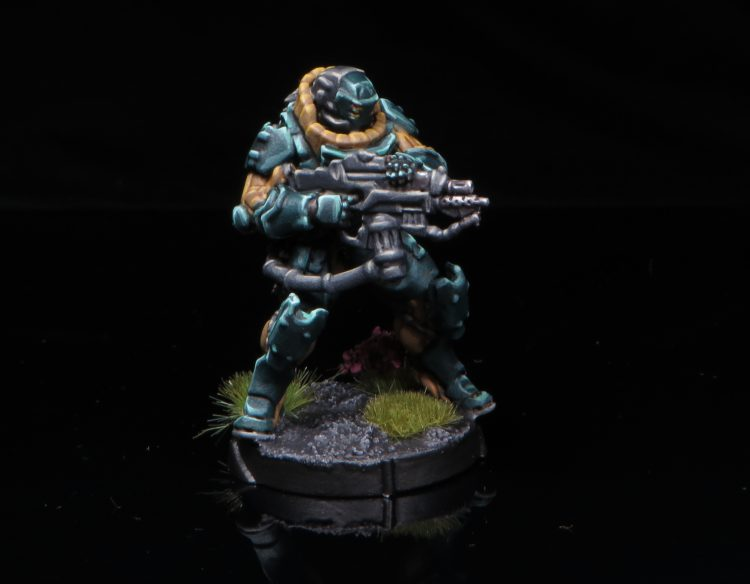 JUJAK with Combi Rifle, Heavy Flamethrower. Credit: Rockfish