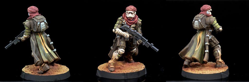 Haqqislam Khawarij with Rifle and Shotgun