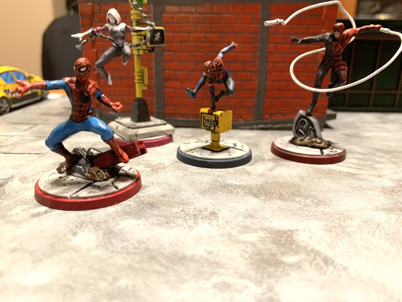 Marvel Crisis Protocol Affiliation Spotlight: Web Warriors